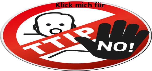 TTIP Nein - die Nachteile sind zu gravierend!